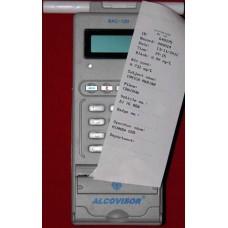 Etilotest profesional AlcoVisor BAC100 cu imprimantă încorporată (Aparate Etilotest Profesionale la cel mai mic pret 5,499.00 lei) doar pe Alcooltest-Online.ro