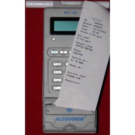 Etilotest profesional AlcoVisor BAC100 cu imprimantă încorporată