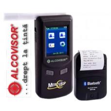Etilotest profesional AlcoVisor Mercury cu imprimantă wireless (Aparate Etilotest Profesionale la cel mai mic preț 3.621.00 lei + TVA) doar pe Alcooltest-Online.ro