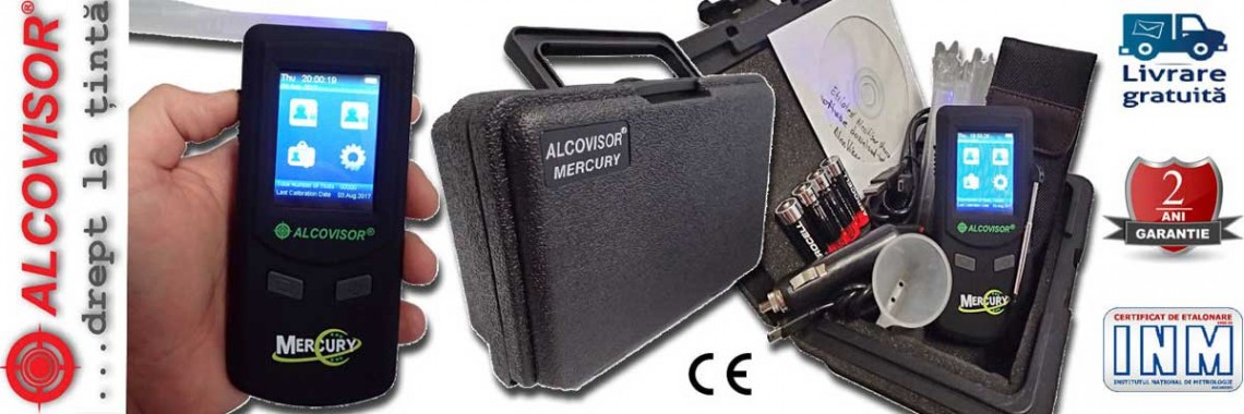 Etilotest Mercury AlcoVisor