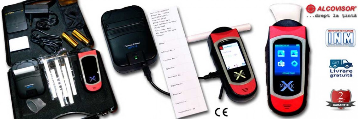 Etilotest cu Imprimanta MARK-X AlcoVisor